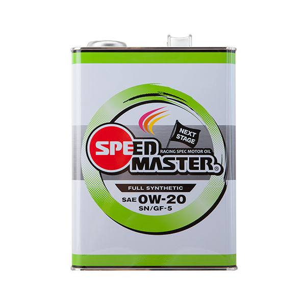 スピードマスター NEXT STAGE 0W-20 4L×6缶セット SPEED MASTER