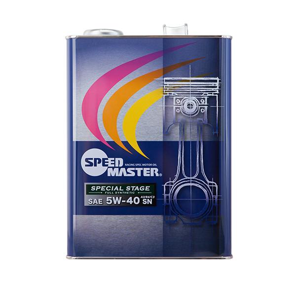 スピードマスター SPECIAL STAGE 5W-40 4L×6缶セット SPEED MASTER