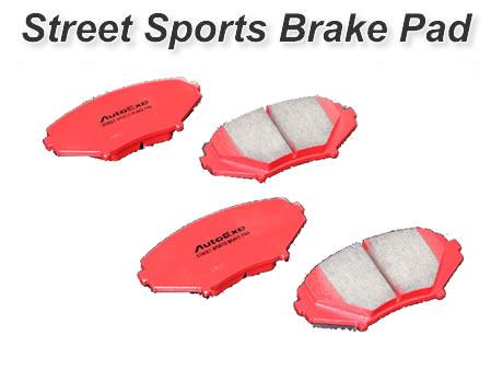 AutoExe オートエグゼ MBK5A10 ストリートスポーツ ブレーキパッド フロント CX-3 DK系全車 【NFR店】