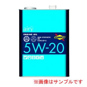 SUNOCO airy スノコ エアリー SN 5W20 3L×4缶