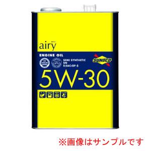SUNOCO airy スノコ エアリー SN 5W30 3L×4缶 【NFR店】
