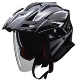 LEAD リード工業 ヘルメット AIACE(アイアス) ブラック Lサイズ (59-60未満) 【NFR店】