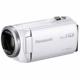 <欠品 未定>☆Panasonic デジタルハイビジョンビデオカメラ ホワイト HC-V480MS-W