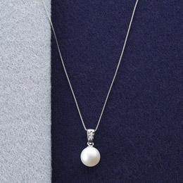 ☆本真珠&ダイヤモンドペンダント