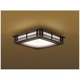 ☆コイズミ リモコン付LED和風シーリングライト (~8畳) 調光・調色(昼光色~電球色) BH16772CK