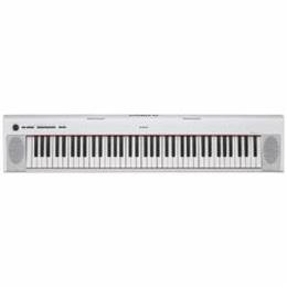 ☆YAMAHA 電子キーボード 「piaggero(ピアジェーロ)」 76鍵盤 ホワイト NP-32WH