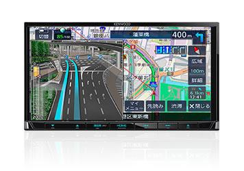 KENWOOD ケンウッド MDV-L406 ワンセグTVチューナー内蔵 DVD/USB/SD AVナビゲーションシステム