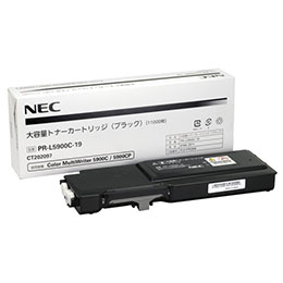 ☆NEC 大容量トナーカートリッジ ブラック PR-L5900C-19