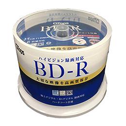 E-SELECT <欠品 未定>☆【6個セット】E-SELECT BD-R 25GB ブルーレイ ディスク 映像用 1-6倍速 ワイド ホワイトプリンタブル 50枚 BD-R25WGAS50X6