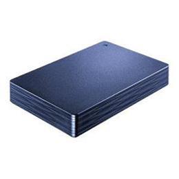 ☆IOデータ 外付けHDD カクうす Lite ミレニアム群青 ポータブル型 2TB HDPH-UT2DNVR