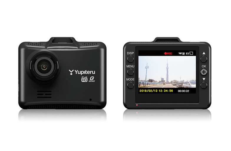 YUPITERU ユピテル 200万画素Gセンサー搭載一体型ドライブレコーダー DRY-ST1100C:カー用品卸問屋 NFR