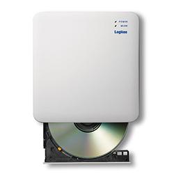 ☆エレコム WiFi対応DVDディスクドライブ 5GHz iOS_Android対応 DVD再生対応 USB3.0 ホワイト LDR-PS5GWU3PWH