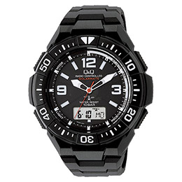 ☆ソーラー電源電波腕時計 K90908218