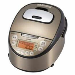 ☆タイガー 炊飯器 炊きたて パールブラウン (1升 /IH) JKT-J182-TP