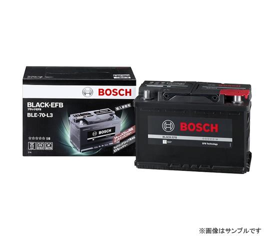 BOSCH ボッシュ 輸入車用 BLACK EFBバッテリー BLE-70-L3 アイドリングストップ対応