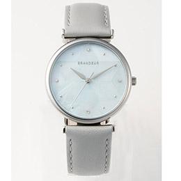 ☆GRANDEUR レディース腕時計 モザイクシェルウォッチ ESL079W1