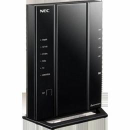 ☆NEC wifiルーター PA-WG2600HS