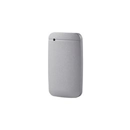 ☆エレコム ESD-EF0500GSVR 外付けSSD/ポータブル/USB3.2(Gen1)対応/TLC搭載/Type-C&Type-Aケーブル付属/500GB/シルバー/データ復旧サービスLite付