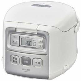 ☆タイガー マイコン炊飯器 JAI-R552W 炊きたて ホワイト 3合炊き