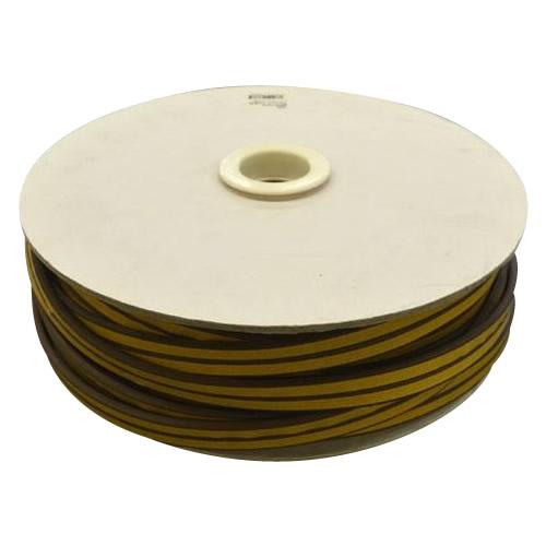 【代引不可】光 (HIKARI) 戸当り防音クッションテープ粘着付茶P型 5.5×18mm KP5-50W  50m「他の商品と同梱不可」