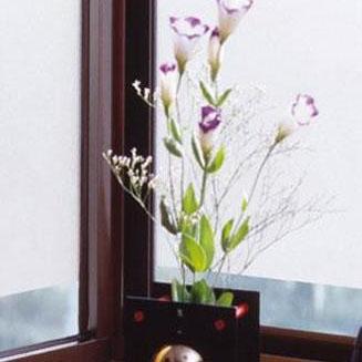 空気が抜けやすい窓飾りシート(スリガラスタイプ) 92cm幅×15m巻 C(クリアー) GDSR-9250「他の商品と同梱不可/北海道、沖縄、離島別途送料」