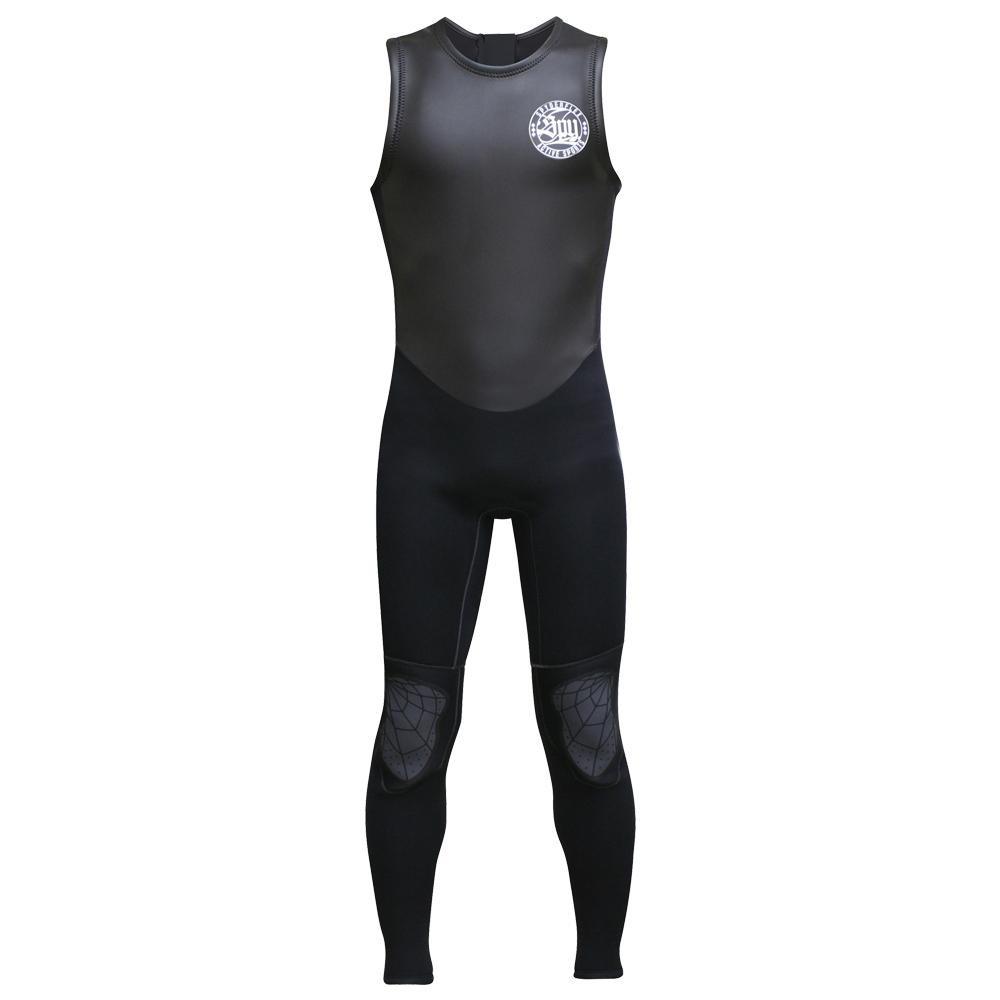 Spyder Flex スパイダーフレックス クラシックロングジョン ブラック ウェットスーツ メンズ L SLJ37116「他の商品と同梱不可/北海道、沖縄、離島別途送料」