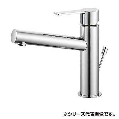 三栄 SANEI column シングルワンホール洗面混合栓 K4750PV-13「他の商品と同梱不可/北海道、沖縄、離島別途送料」