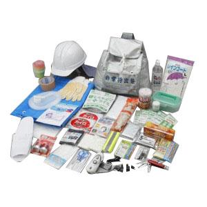 【代引不可】防災用品 非常持出しセット42点 HM42-2000「他の商品と同梱不可/北海道、沖縄、離島別途送料」