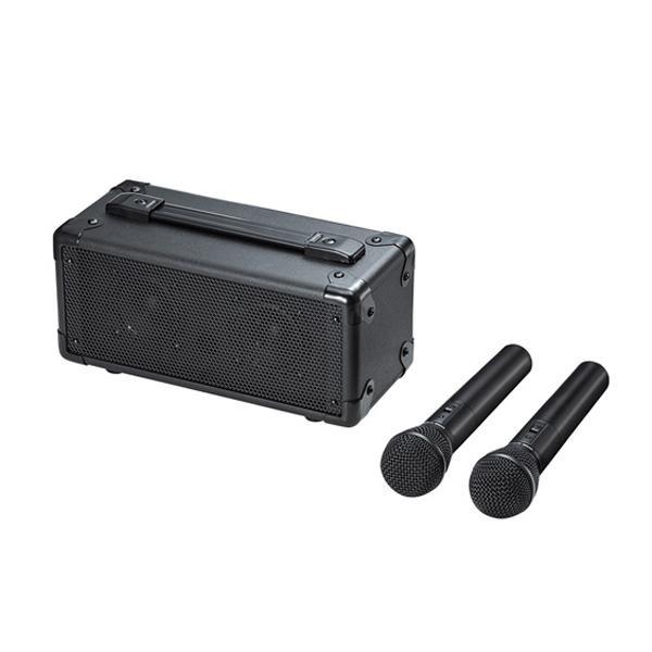 サンワサプライ ワイヤレスマイク付き拡声器スピーカー MM-SPAMP7「他の商品と同梱不可/北海道、沖縄、離島別途送料」