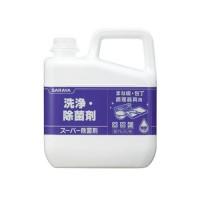 【代引不可】サラヤ スーパー除菌剤 5kg×3本 31828「他の商品と同梱不可/北海道、沖縄、離島別途送料」