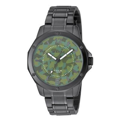 AUREOLE(オレオール) S.P.F.W メンズ腕時計 SW-571M-5「他の商品と同梱不可/北海道、沖縄、離島別途送料」