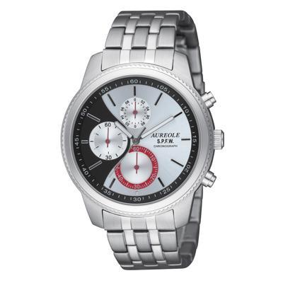 AUREOLE(オレオール) S.P.F.W メンズ腕時計 SW-575M-4「他の商品と同梱不可/北海道、沖縄、離島別途送料」