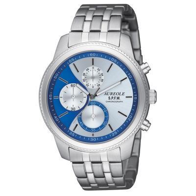 AUREOLE(オレオール) S.P.F.W メンズ腕時計 SW-575M-5「他の商品と同梱不可/北海道、沖縄、離島別途送料」