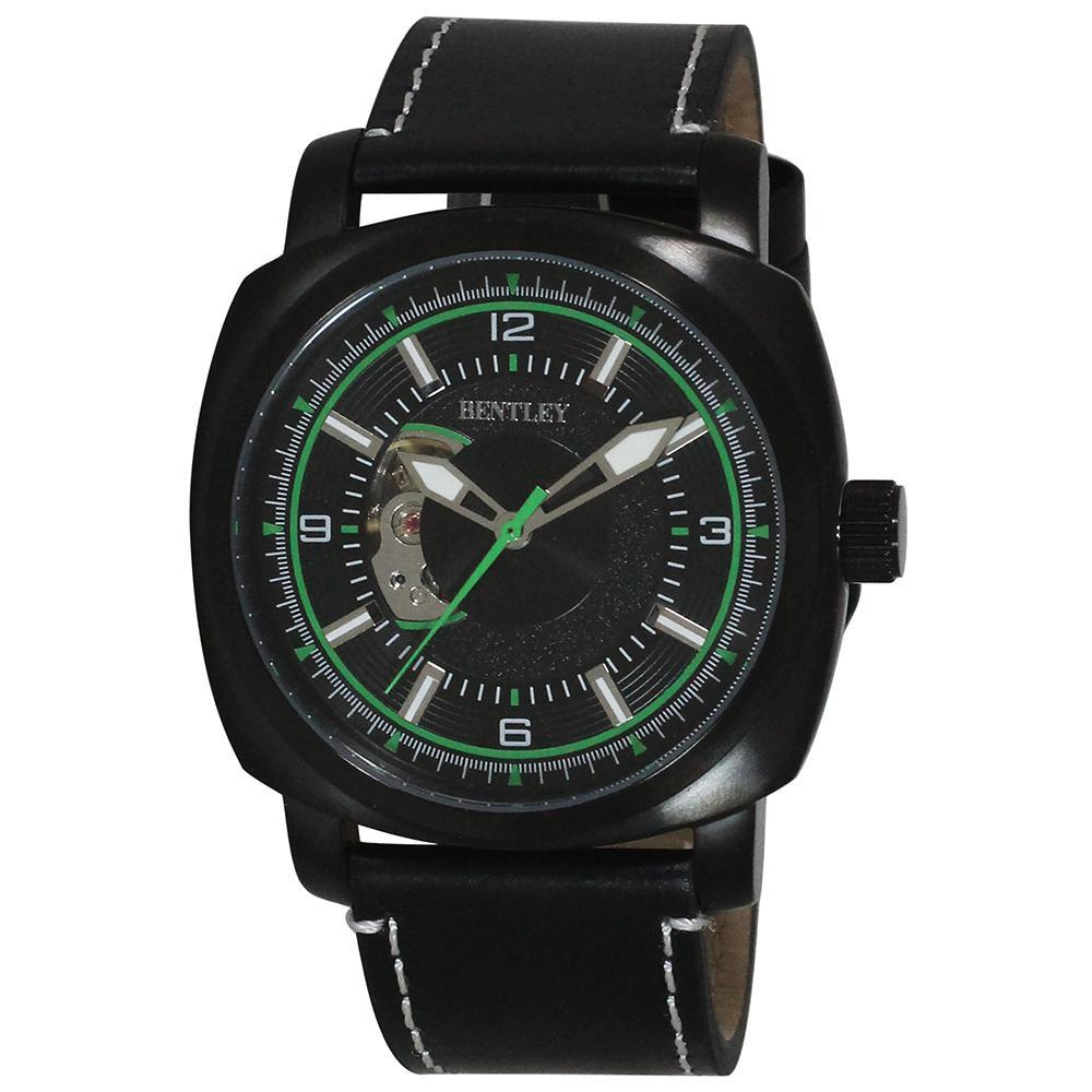 BENTLEY 機械式腕時計 BT-AM078-GNB「他の商品と同梱不可/北海道、沖縄、離島別途送料」