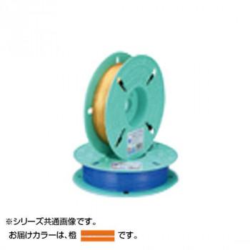 【代引不可】共和 PETリール巻(平行) 橙 QK-750T5 10巻「他の商品と同梱不可/北海道、沖縄、離島別途送料」