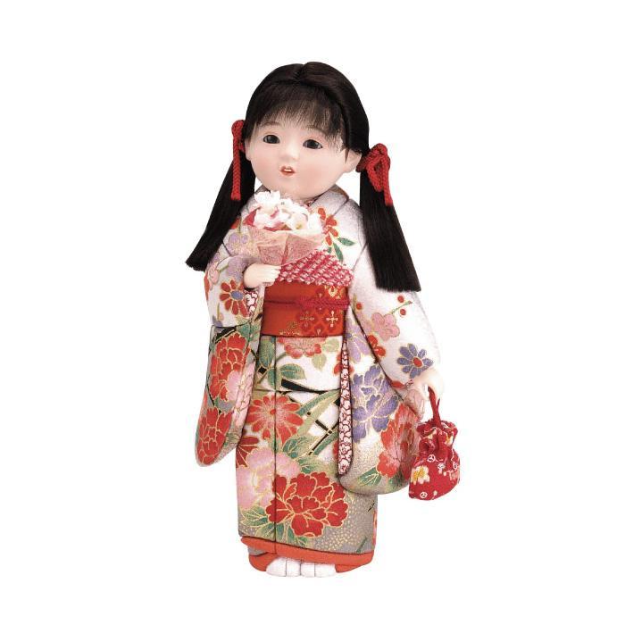 01-585 木目込み人形 春うらら 完成品「他の商品と同梱不可/北海道、沖縄、離島別途送料」