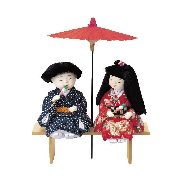 01-437 木目込み人形 初恋 セット「他の商品と同梱不可/北海道、沖縄、離島別途送料」