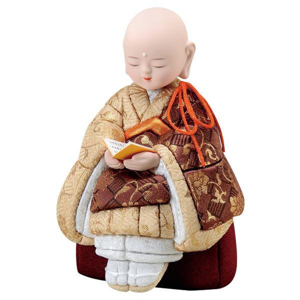 01-828 木目込み人形 洗心 完成品「他の商品と同梱不可/北海道、沖縄、離島別途送料」