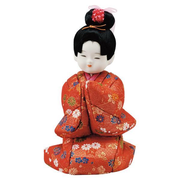 01-040 木目込み人形 想い 完成品「他の商品と同梱不可/北海道、沖縄、離島別途送料」