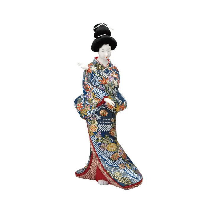 01-578 木目込み人形 慕情 セット「他の商品と同梱不可/北海道、沖縄、離島別途送料」