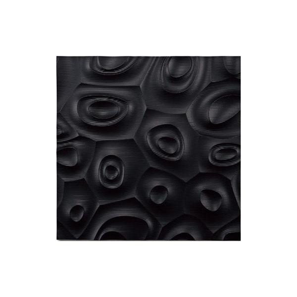 ユーパワー プラデック ウォール アート ネビュラス(ブラック) PL-18022「他の商品と同梱不可/北海道、沖縄、離島別途送料」