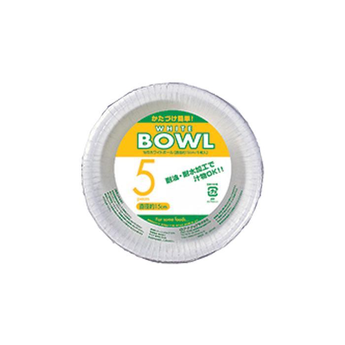 アートナップ WBホワイトボール 15cm 5枚×120 WB-42「他の商品と同梱不可/北海道、沖縄、離島別途送料」