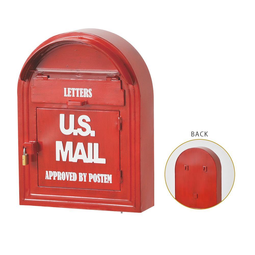 セトクラフト ウォールポスト U.S.MAIL SI-2888-1100「他の商品と同梱不可/北海道、沖縄、離島別途送料」