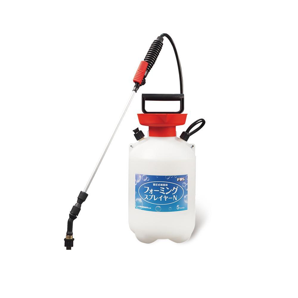 畜圧式発泡洗浄機 フォーミングスプレーヤーN 74010011「他の商品と同梱不可/北海道、沖縄、離島別途送料」