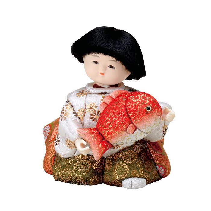 01-789 木目込み人形 袴着 完成品「他の商品と同梱不可/北海道、沖縄、離島別途送料」