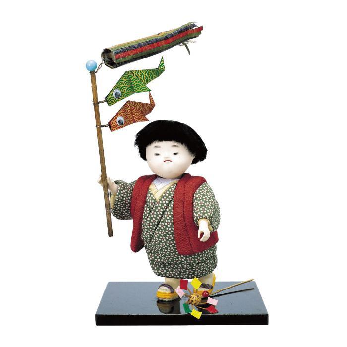 01-383 木目込み人形 鯉太郎ちゃん 完成品「他の商品と同梱不可/北海道、沖縄、離島別途送料」