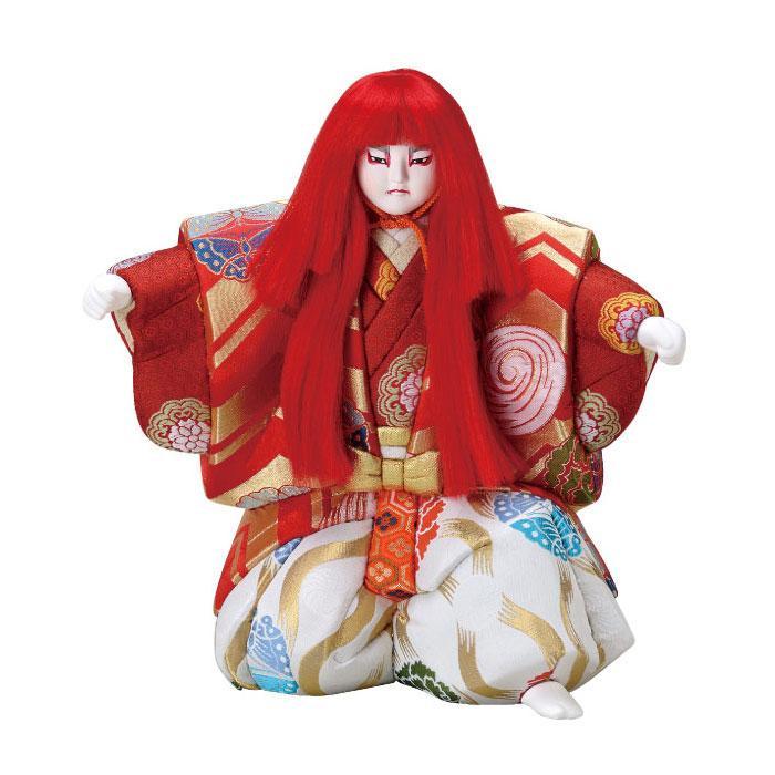 01-081 木目込み人形 子獅子(特製) セット「他の商品と同梱不可/北海道、沖縄、離島別途送料」