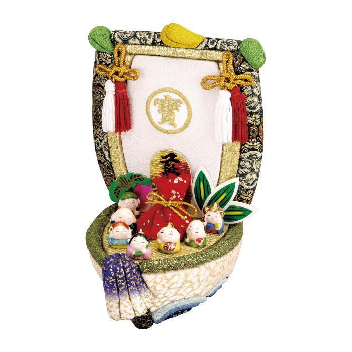 01-602 七福宝船 完成品「他の商品と同梱不可/北海道、沖縄、離島別途送料」