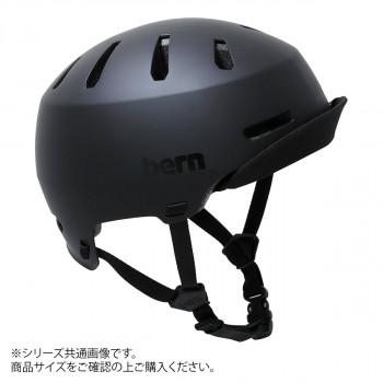 bern バーン ヘルメット MACON VISOR2.0 MT BLACK L BE-BM28H20MBK-04「他の商品と同梱不可/北海道、沖縄、離島別途送料」
