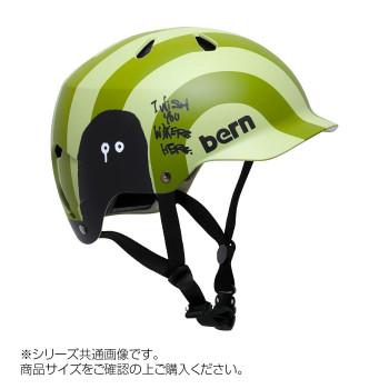 bern バーン ヘルメット WATTS RYUJI KAMIYAMA KHAKI L BE-BM25BGNGS-04「他の商品と同梱不可/北海道、沖縄、離島別途送料」